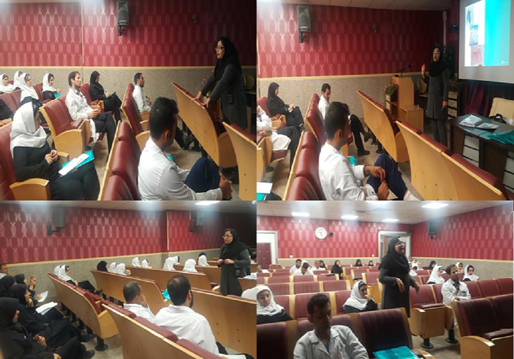برگزاری برنامه آموزشی در بیمارستان خاتم النبیا تهران